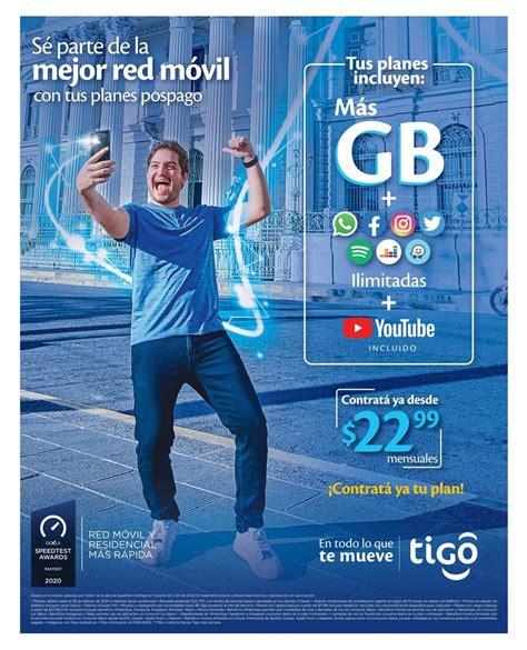 Tus planes pospago de Tigo incluyen más GB y apps - 29 ...