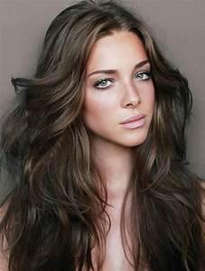 Couleur Cheveux Marron Chocolat : couleur de cheveux marron coloration caramel broux ~ Melissatoandfro.com Idées de Décoration