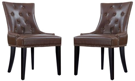 Uptown Antique Brown Leather Dining Chair Set Of 2 From Tov (d28) Antique High Back Dining Room Chairs Ruby Pendant Necklace Hairdressing Petworth Park Antiques And Fine Art Fair Chinese Nesting Tables Bronze Incense Burners How To A Mirror Frame With Paint Earrings Designs