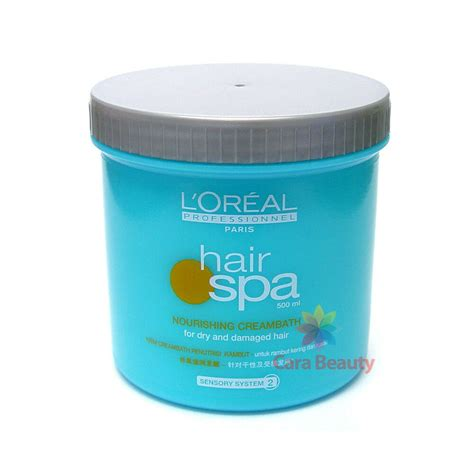 Harga Loreal Hair Spa Nourishing Creambath l oreal hair spa nourishing creambath 500ml hair treatment
