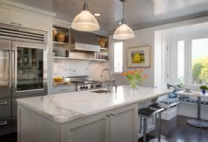 Kitchen Island With Granite Countertop Marble Kitchen Countertops Are Coming Back