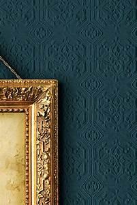 Papier Peint Bleu Foncé : les papiers peints design en 80 photos magnifiques ~ Melissatoandfro.com Idées de Décoration