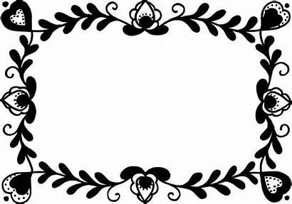 Frame Flower Rectangle Svg Vector Transparent Onlygfx