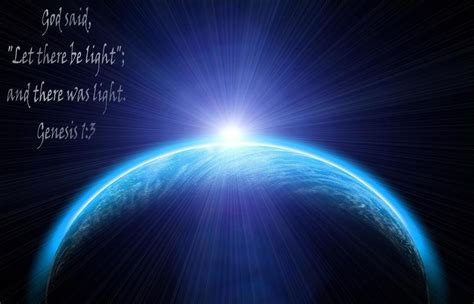 let there be light god creation and the cosmos photo album