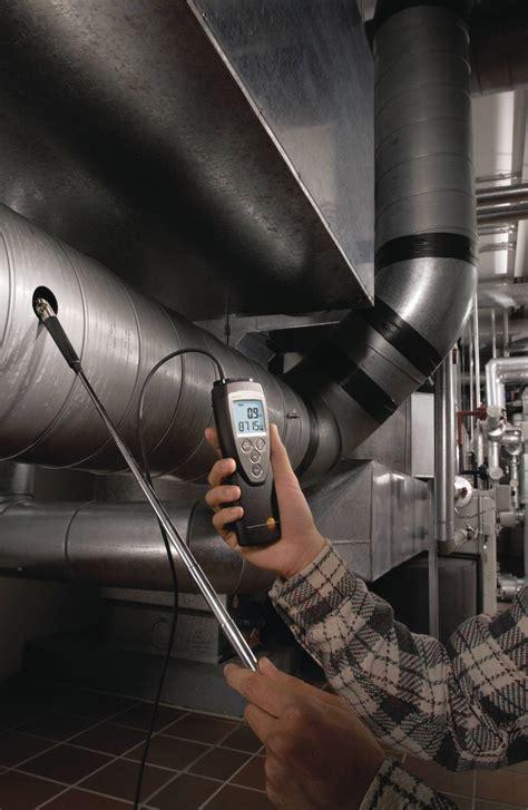 light testo testo 416 vane anemometer velocity air flow co co
