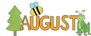 August Nature Clip Art - August Nature Image
