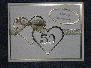 handmade 50th anniversary cards yahoo search results With 50th wedding anniversary cards