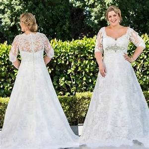 winter plus size wedding dresses pluslookeu collection With wedding dresses for women