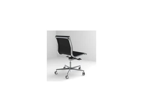 chaise bureau cuir nulite chaise de bureau en cuir pleine fleur dossier bas