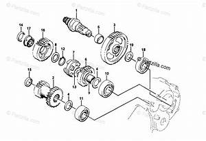 Arctic Cat Atv 1998 Oem Parts Diagram For Secondary Transmission Assembly