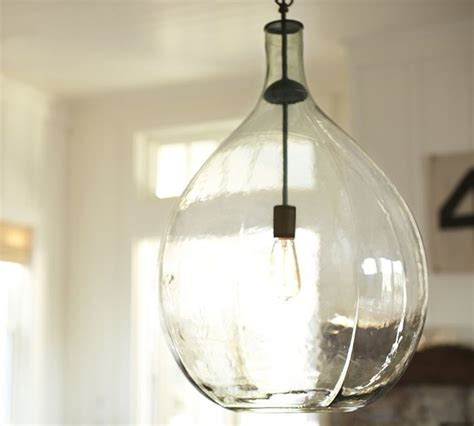 clift oversized glass pendant clear eclectic pendant