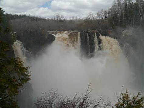 video spring   high falls   pigeon river lake