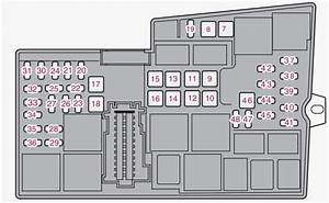 Volvo V40  2013  - Fuse Box Diagram