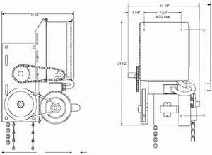 Power Master Overhead Door Operator Ch Model