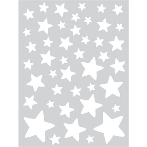 theme etoile chambre bebe stickers enfants supplément d 39 âme etoiles blanches lilipinso ma chambramoi