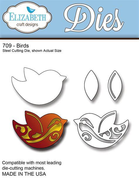 709 Birds Dies By Elizabeth Craft Designs
