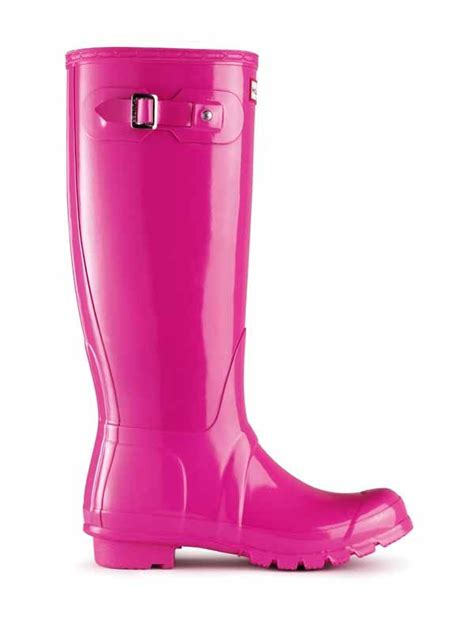 Original Tall Gloss Rain Boots | Hunter Boot Ltd Lipstick ...