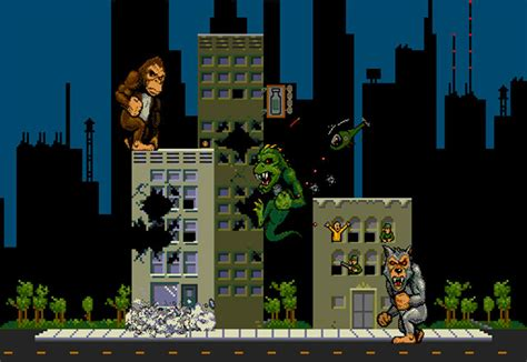 Rampage Video Game Becoming Rampage Movie I Watch Stuff