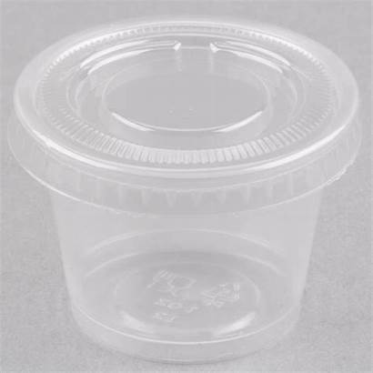 Oz Cup Clear Portion Plastic Souffle Party