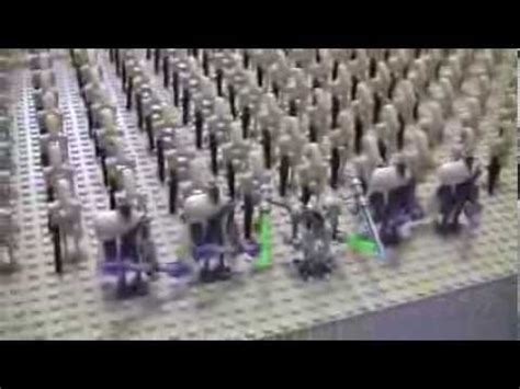huge lego droid army krisproductions youtube