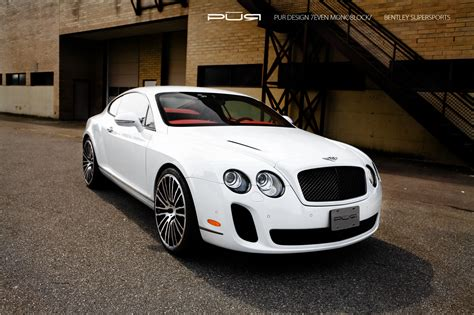 Bentley Continental Supersports On Pur Wheels Autoevolution