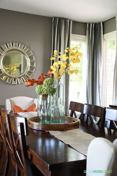 fall home  dining room table centerpieces dining room table decor dining room centerpiece