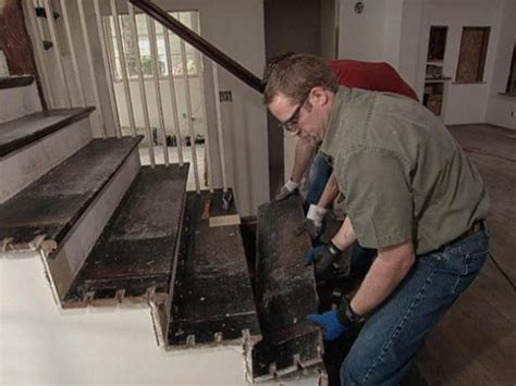 replacing stair spindles how to replace staircase treads how tos diy 1881