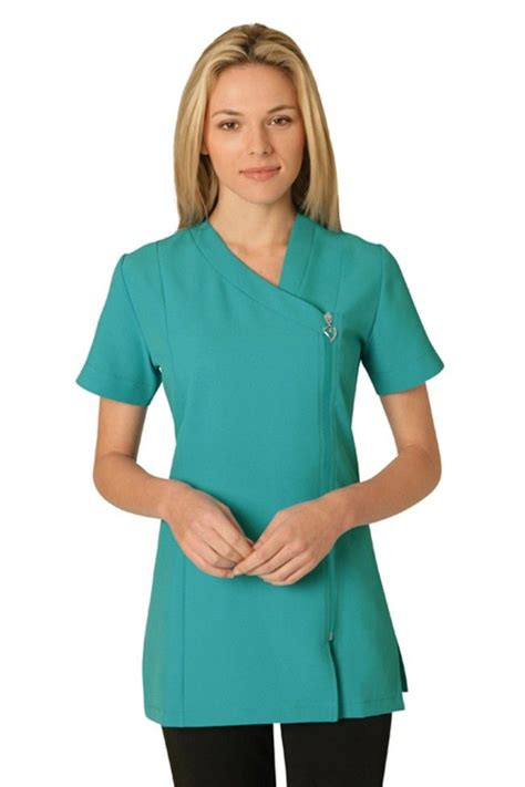 A wide variety of uniform beauty salon options are available to you, such as supply type, uniform type. Belle Asymmetric Tunic (in 4-way stretch) | Uniforme ...