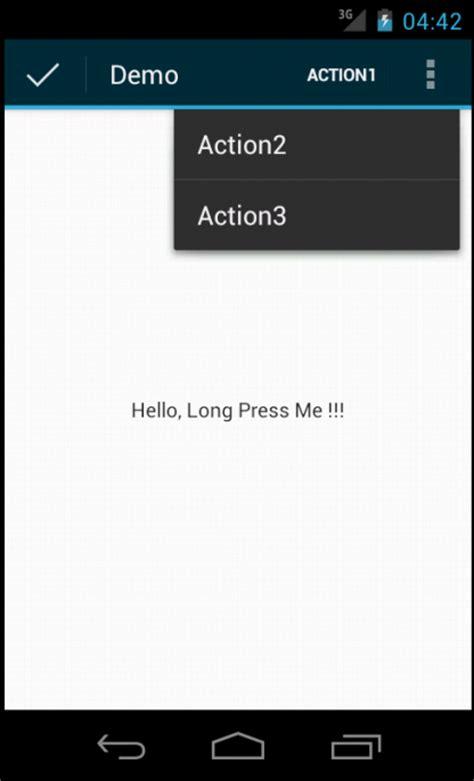 xamarin forms left toolbar item widget similar to android context menu for xamarin forms