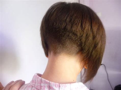 Soft Tapered Nape With This Inverted Bob