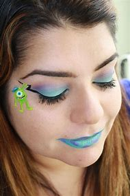 Cute Halloween Monster Makeup
