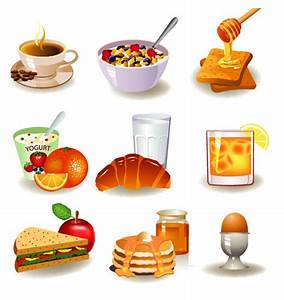 Breakfast Icons | Free Vector Graphic Download