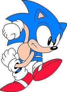 File:Classic sonic run3.svg - Sonic Retro