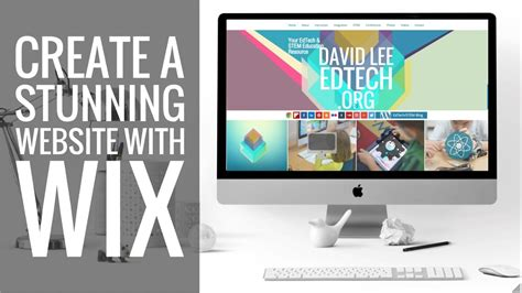 New Wix Tutorial! How To Make A Stunning Website! Youtube