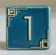 pewabic tile house numbers pewabic pottery house numbers what s your number