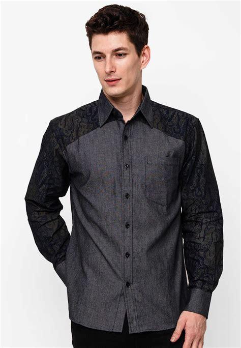 model baju batik pria untuk seragam kantor