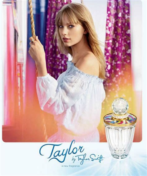 » Taylor Swift Unveils Ad For New Perfume, 'taylor'