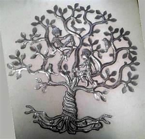 Arbre De Vie Decoration Murale : l 39 arbre de la vie avec les gens et les oiseaux tenture arbre de vie en m tal illustration des ~ Teatrodelosmanantiales.com Idées de Décoration