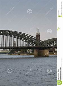 Cologne Germany Panorama Stock Photo