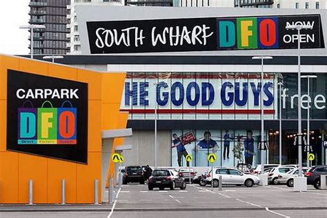 dfo direct factory outlets south wharf melbourne