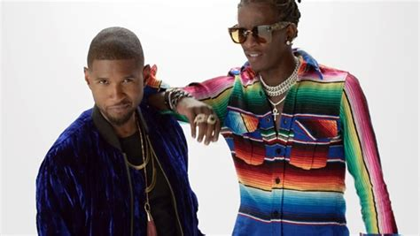 """Usher Premieres """"no Limit"""" Video With Young Thug"""