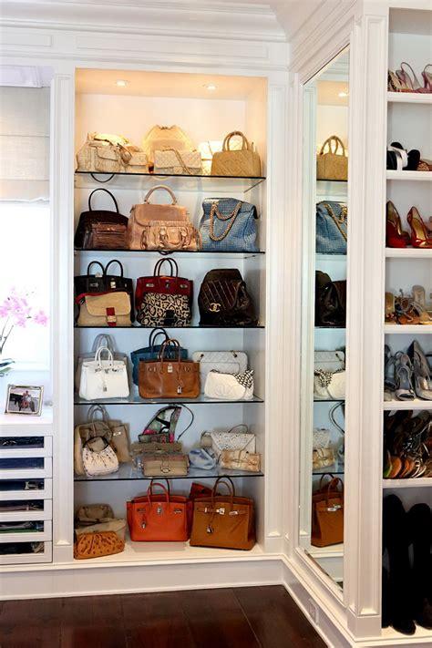 walk in closet organizer design closet organizers purse storage home design ideas