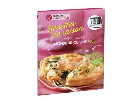 """Livre De Recettes """" Monsieur Cuisine Plus """" Lidl"""