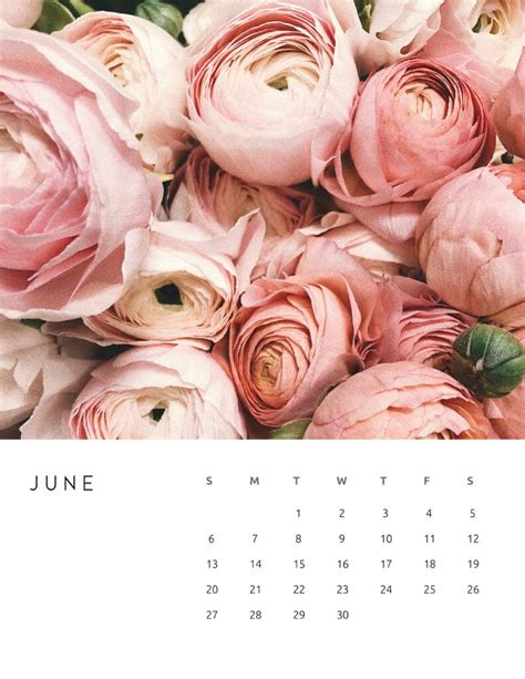 calendar floral photography world  printables