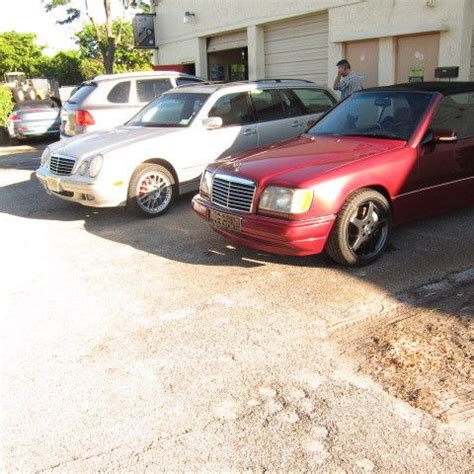 1995 mercedes w124 cabriolet e200 custom turbo 5 speed manual amg parts for sale in delray