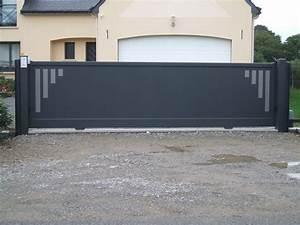 Portail Brico Depot 4m : portail coulissant autoportant leroy merlin ~ Farleysfitness.com Idées de Décoration
