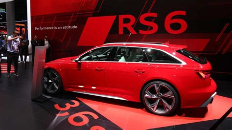 Update Motor Show 2019 : 2020 Audi Rs6 Avant At The 2019 Frankfurt Motor Show
