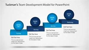 Team Development Model Ppt Slide Design With Four Stages