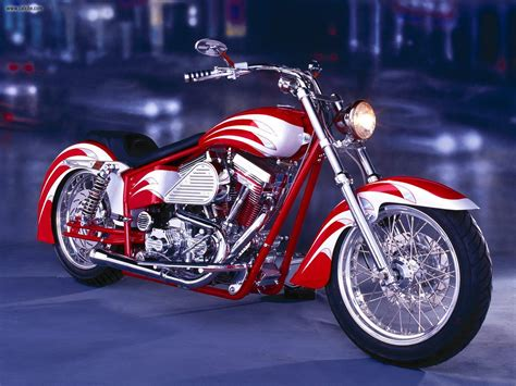 Custom Motorcycle Chopper Wallpaper