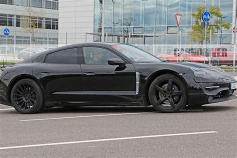 2020 Porsche Electric Car by 2020 Porsche Mission E Electric Sedan Spied Testing